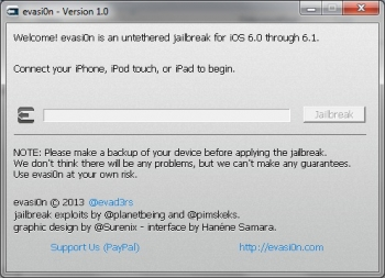 How to Jailbreak your iOS 6.x iDevices with evasi0n