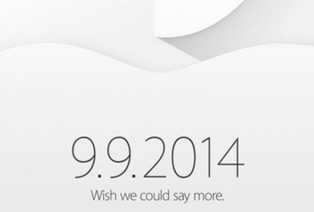Apple Officially Announces September 9th for iPhone 6
