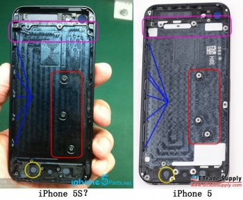 iPhone 5S parts appear, Apple start design iPhone 5S